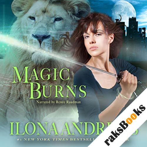 Magic Burns audiobook cover art
