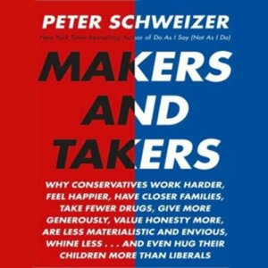 Makers and Takers audiobook cover art