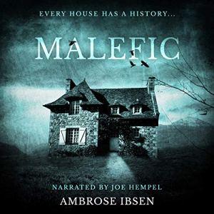 Malefic  audiobook cover art
