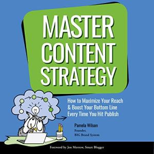 Master Content Strategy audiobook cover art