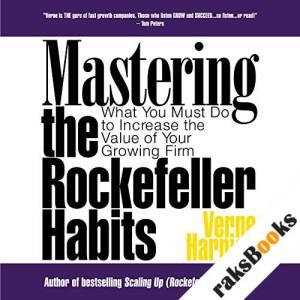 Mastering the Rockefeller Habits audiobook cover art