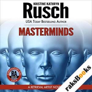 Masterminds audiobook cover art