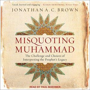 Misquoting Muhammad audiobook cover art