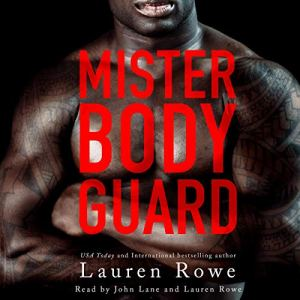 Mister Bodyguard audiobook cover art