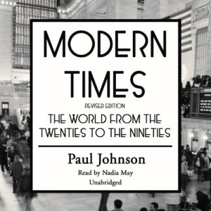 Modern Times audiobook cover art