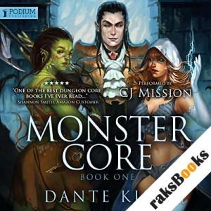 Monster Core audiobook cover art