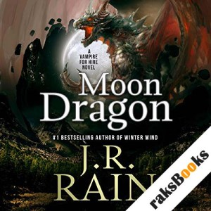 Moon Dragon audiobook cover art
