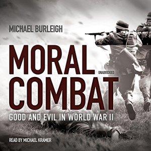 Moral Combat audiobook cover art
