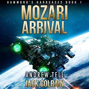 Mozari Arrival audiobook cover art