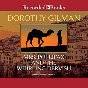 Mrs. Pollifax and the Whirling Dervish audiobook cover art