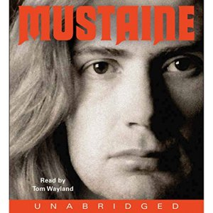 Mustaine audiobook cover art
