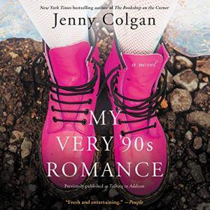 My Very '90s Romance audiobook cover art