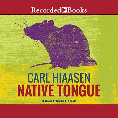 Native Tongue audiobook cover art