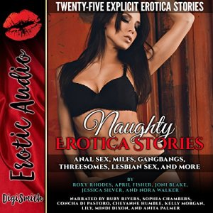 Naughty Erotica Stories audiobook cover art