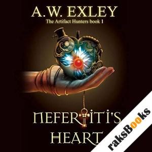 Nefertiti's Heart audiobook cover art