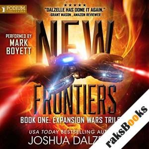 New Frontiers audiobook cover art