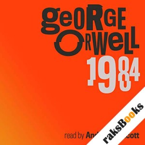 Nineteen Eighty-Four audiobook cover art