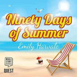 Ninety Days of Summer audiobook cover art