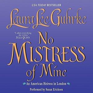 No Mistress of Mine audiobook cover art