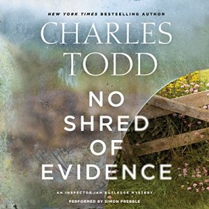 No Shred of Evidence audiobook cover art