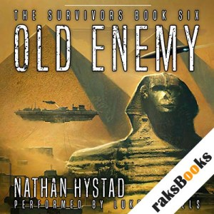 Old Enemy audiobook cover art