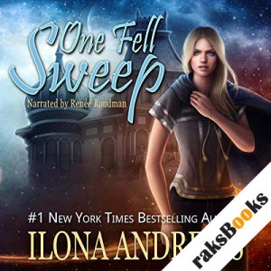 One Fell Sweep audiobook cover art