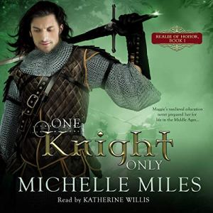 One Knight Only audiobook cover art