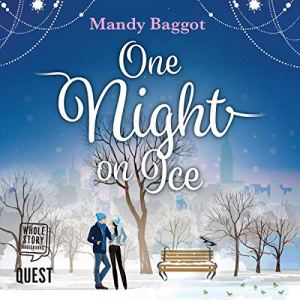 One Night on Ice audiobook cover art