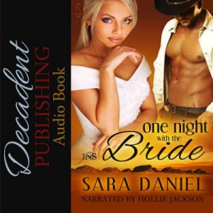 One Night with the Bride audiobook cover art