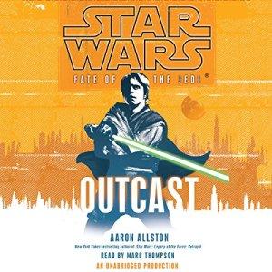 Outcast audiobook cover art