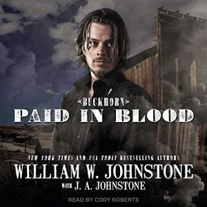 Paid in Blood audiobook cover art