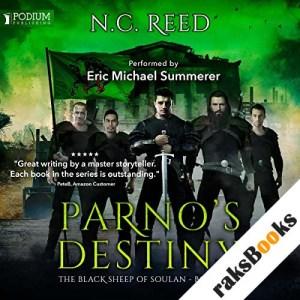 Parno's Destiny audiobook cover art