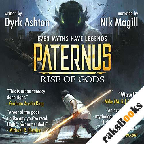 Paternus: Rise of Gods audiobook cover art