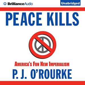 Peace Kills audiobook cover art