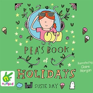 Pea's Book of Holidays audiobook cover art