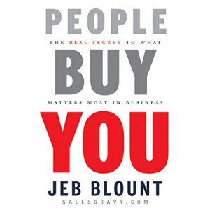 People Buy You: The Real Secret to what Matters Most in Business audiobook cover art