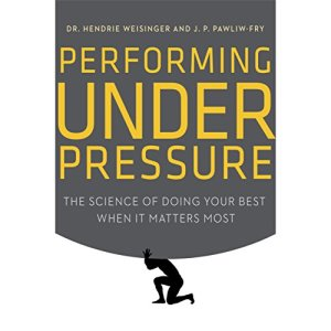 Performing Under Pressure audiobook cover art
