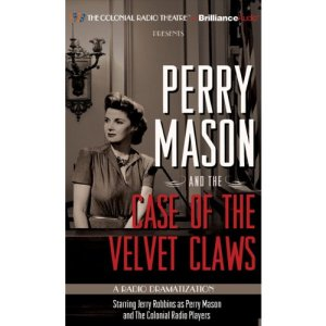 Perry Mason and the Case of the Velvet Claws audiobook cover art