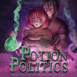 Potion Politics audiobook cover art
