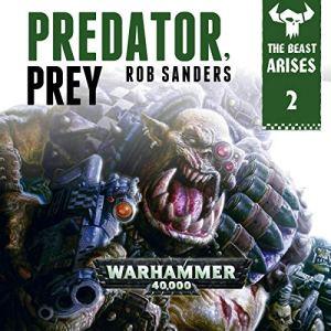 Predator Prey: Warhammer 40,000 audiobook cover art