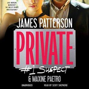 Private: #1 Suspect audiobook cover art