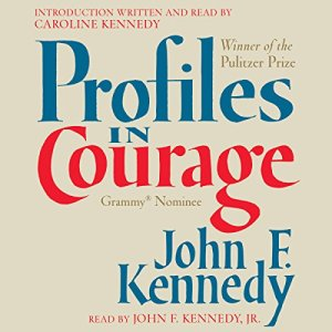 Profiles in Courage audiobook cover art
