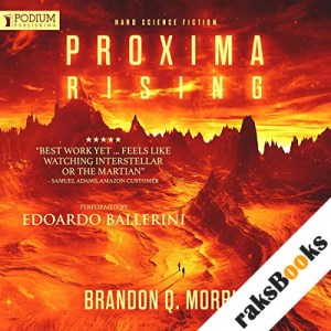 Proxima Rising audiobook cover art