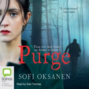 Purge audiobook cover art