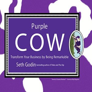 Purple Cow audiobook cover art