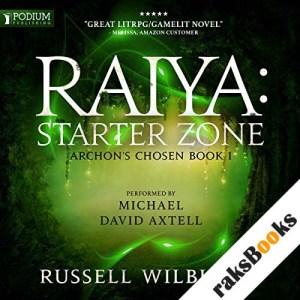 Raiya: Starter Zone audiobook cover art