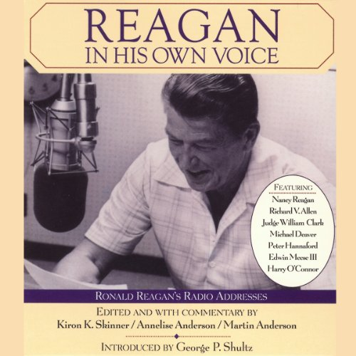 Reagan in His Own Voice audiobook cover art