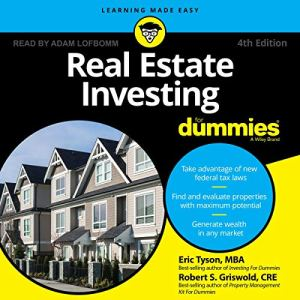 Real Estate Investing for Dummies, 4th Edition audiobook cover art
