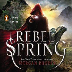 Rebel Spring audiobook cover art