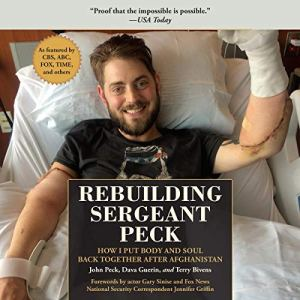 Rebuilding Sergeant Peck audiobook cover art